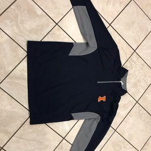 U of I/ UIUC zip up shirt!